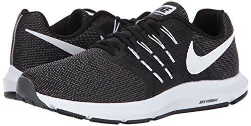 Blanc Fonc gris De noir Course Nike Pied Chaussures Pour Noir Hommes gA8w8q