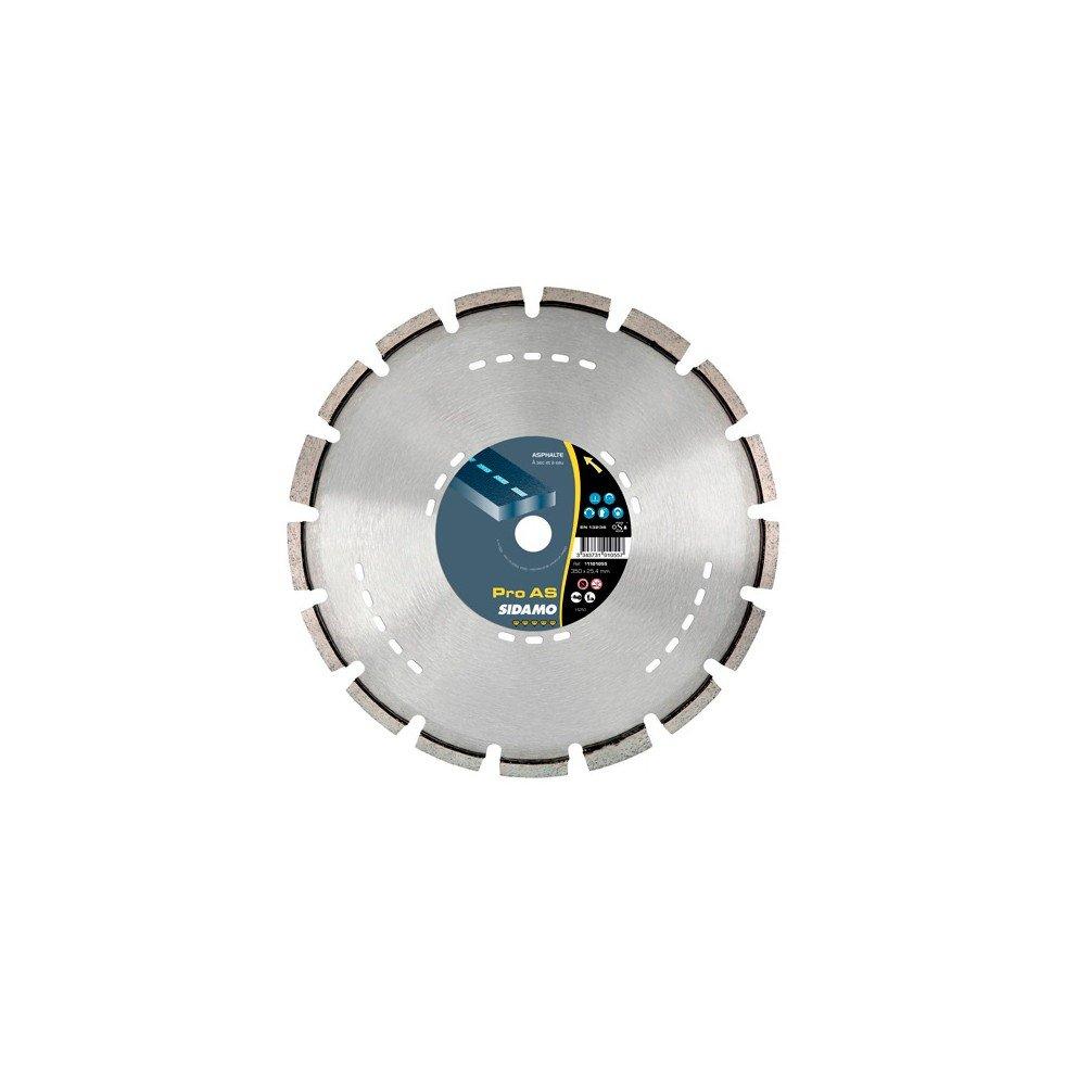 Sidamo–Festplatte Diamant Pro AS D.350x 25,4–20x 10x EPH. 3,2mm–Asphalt–11101055