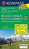 Bruneck /Toblach /Hochpustertal - Brunico /Dobbiaco /Alta Pusteria: Wanderkarte mit Aktiv Guide, Rad- und alpinen Skirouten. GPS-genau. Dt. /Ital. 1:50000 (KOMPASS-Wanderkarten, Band 57)