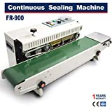 Sumeve Continuous Sealing Machine FR-900 Automatic Horizontal Continuous Plastic Bag Band Sealing Sealer Machine Stamp Coding