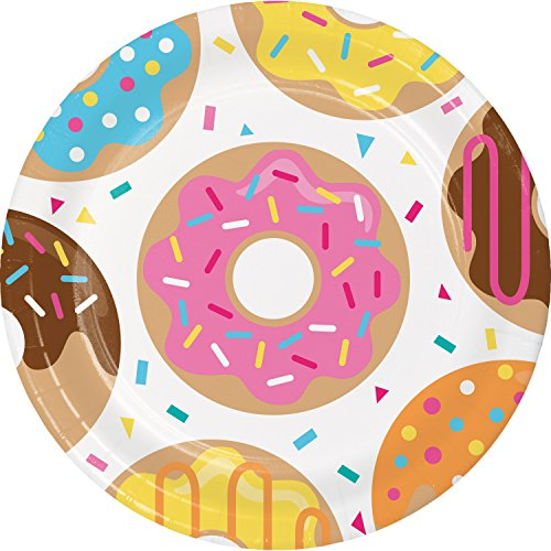 Donut Time Dinner Plates, 24 ct ()