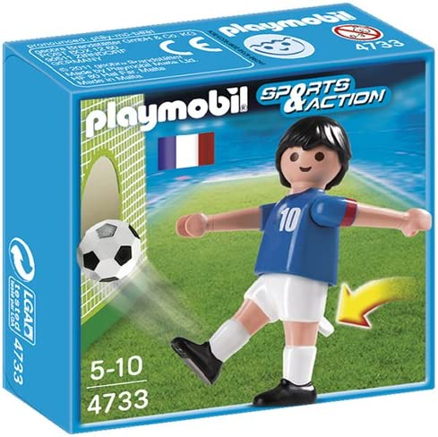 Playmobil Fútbol - Fútbol: Jugador Francia (4733): Amazon.es ...