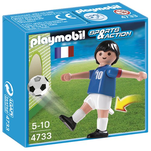 PLAYMOBIL France Soccer Player Toy