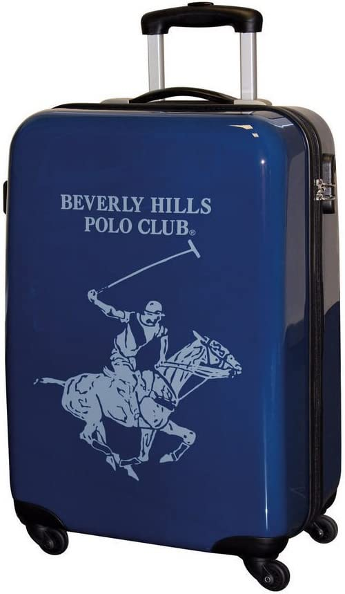Beverly Hills Polo Club Maleta, 55 cm, ABS, 35 Litros, Azul ...