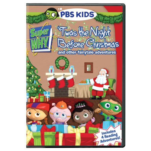 Amazon.com: Super Why!: Twas the Night Before Christmas: Artist ...