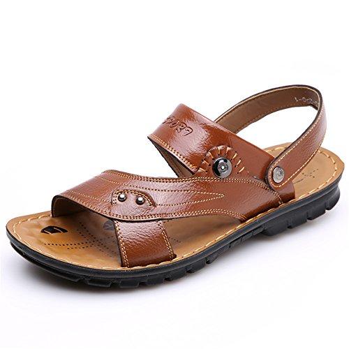 甘やかす毛皮指JIANXI サンダル メンズ コンフォート サンダル ストラップサンダル フットベットサンダル ビーチサンダル カジュアル フラットサンダル バックバンド スポーツサンダル 紳士靴 通気 男性 靴 おしゃれ