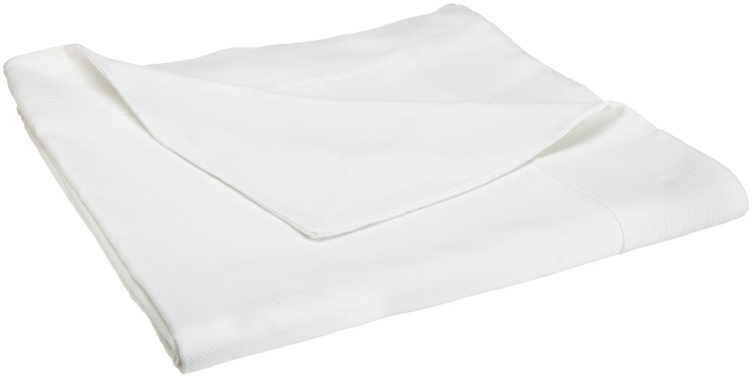 Peacock Alley Angelina Coverlet, King, White