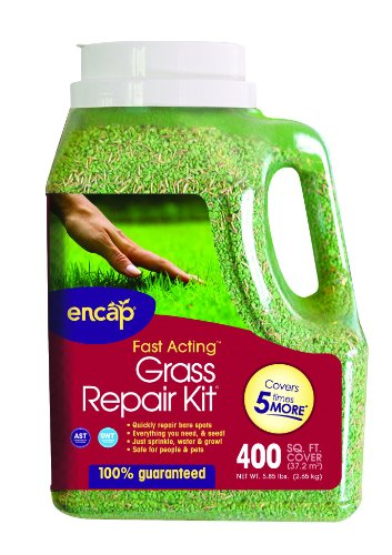 ENCAP Sun Shade Grass Repair Kit - Seed, Mulch & Fertilizer Combination - covers 400 sq. ft.