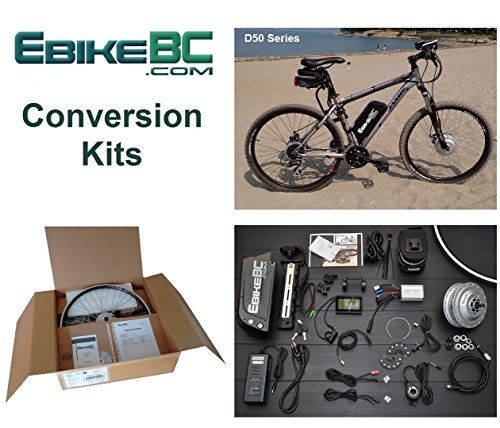 Ebike KIT 500/800W Electric Bicycle E Bike Complete Conversion Kit Front Hub Motor, Battery Li-Ion 40km/h LCD 26/27.5/28/29/700C rim sizes (Bike not included) (27.5in)