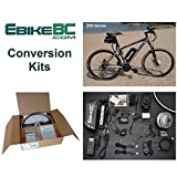 Ebike KIT 500/800W Electric Bicycle E Bike Complete Conversion Kit Front Hub Motor, Battery Li-Ion 40km/h LCD 26/27.5/28/29/700C rim sizes (Bike not included) (26in)