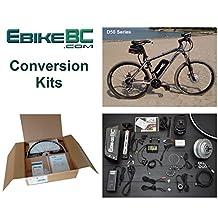 Ebike KIT 500/800W Electric Bicycle E Bike Complete Conversion Kit Front Hub Motor, Battery Li-Ion 40km/h LCD 26/27.5/28/29/700C rim sizes (Bike not included)