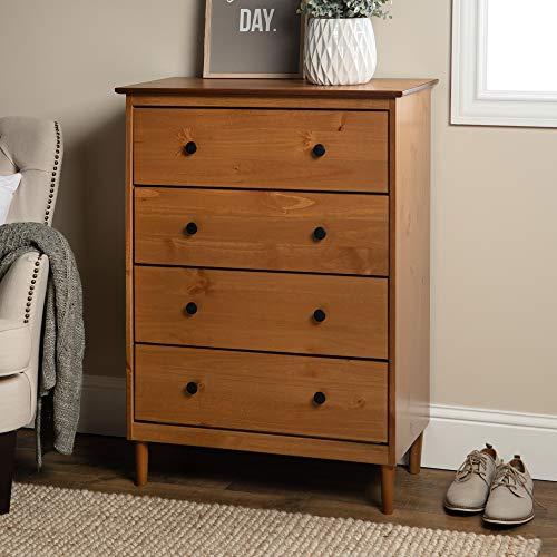 WE Furniture AZR4DDRCA Dresser, 30
