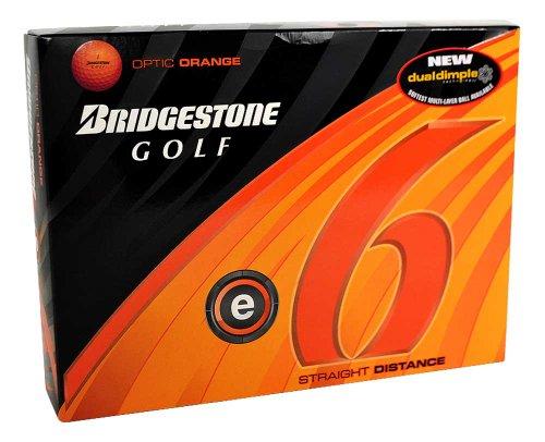 Bridgestone E6 Optic Orange Golf Ball (2011 Model), Outdoor Stuffs
