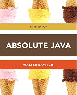 3rd Edition Absolute Java