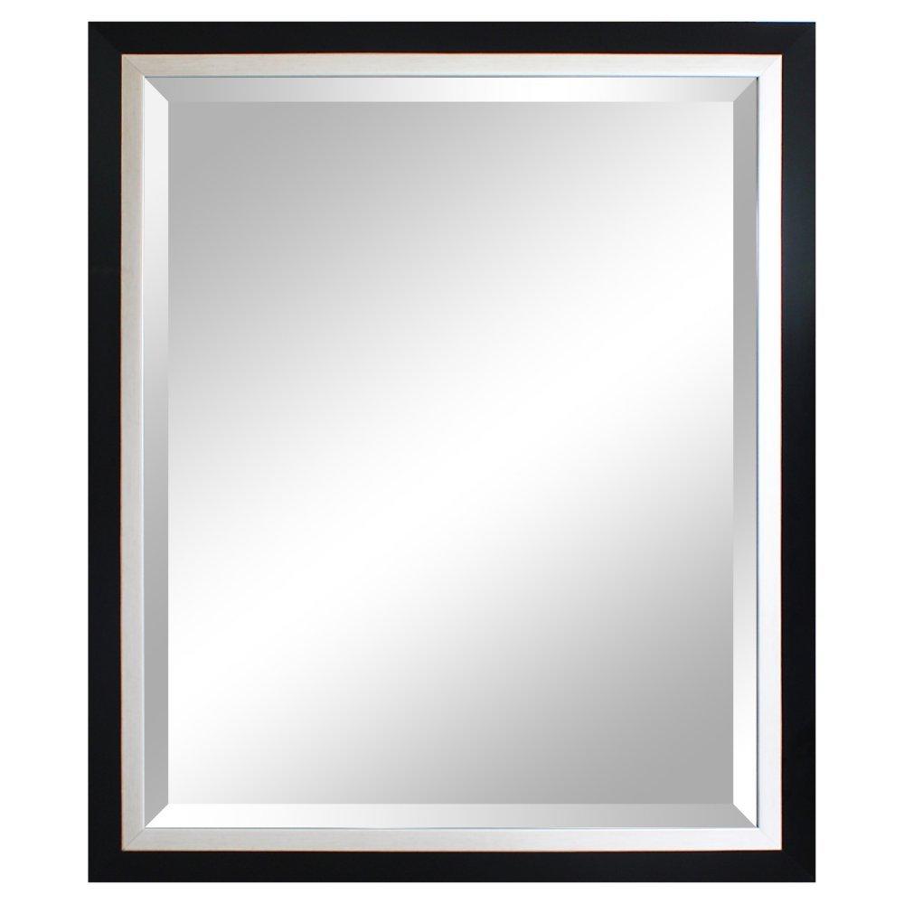 Alpine Art /& Mirror Carson Framed 29 x 35 Wall Mirror 35 x 1.25 x 29 inches 4414KB