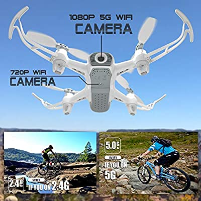Cheerwing W1PRO Brushless Drone with 1080P Camera for Adults 5G FPV Live Video and GPS Return Home