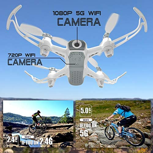 Cheerwing W1PRO GPS Drone with 1080P Camera for Adults, Quadcopter with Brushless Motor, Auto Return Home, Follow Me, Gesture Control, Long Flight Time 51DH4zDw7jL