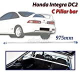 JDM Racing Rear C Pillar Upper Brace Bar 975mm Fits Honda Integra DC2 2-DOOR 94-01