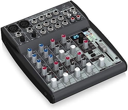 BEHRINGER XENYX 1002FX - Mesa de mezcla pasiva con efectos: Amazon ...
