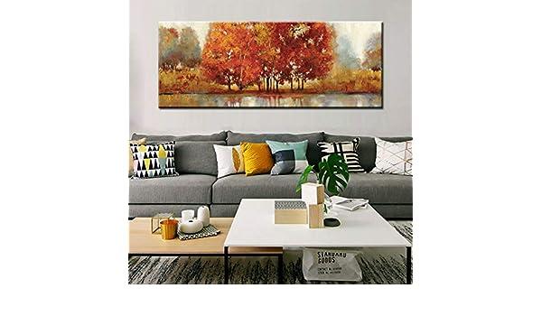 tzxdbh Moderno Paisaje Abstracto Pintura del Arte Pintado a ...