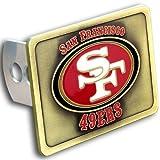 tow hitch cover sf - Siskiyou 65412 San Francisco 49Ers NFL Hitch Cover, Class Ii & Iii