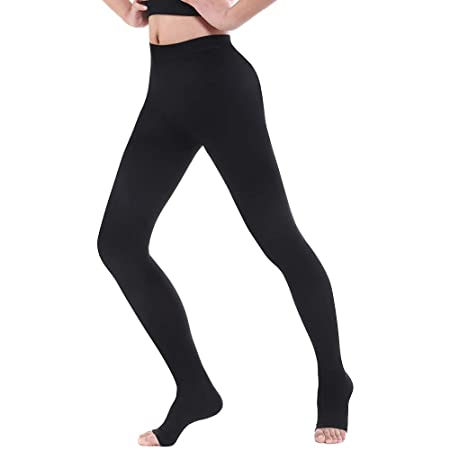 Swolf Compression Pantyhose Women Men, 20 30 Mm Hg Gradient Firm Support Compression Stockings Hose   Waist High Edema Moderate Varicose Veins Medical Compression Tights by Swolf