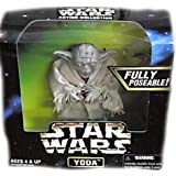 "Star Wars Action Collection 6"" Yoda Figure By Kenner"