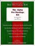 The Alpha Pre-Marriage Kit, Kermit Burton, 093743437X