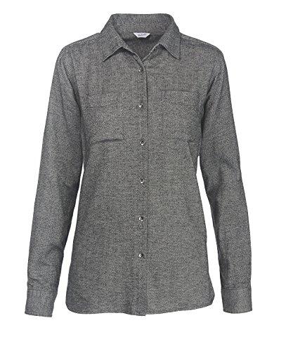 woolrich-womens-the-pemberton-flannel-shirt-black-herringbone-large