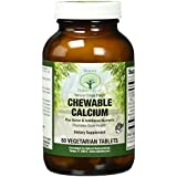 Chewable Calcium by Natural Nutra – 1000mg Calcium – 60 Citrus Flavored Tablets – Vegetarian – Magnesium, Vitamin D, Silicon & Boron – Healthy Bone Density, Teeth, Muscles & Nerves