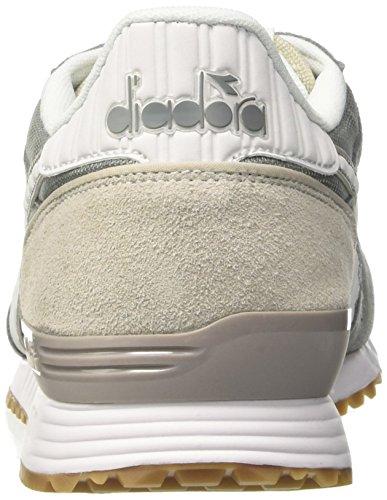 Zapatillas Gimnasia Gris Titan Bianco Diadora de Hombre Cenere II Grigio para 6PEIOxwq