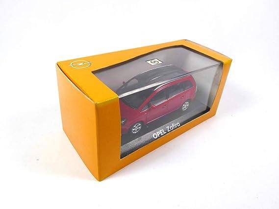 Opel Zafira B Minichamps 1 43 In Opel Box Op10 Spielzeug