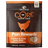 Wellness Pure Rewards Natural Grain Free Dog Treats, Chicken & Lamb Jerky, 6-Ounce Bag For Sale