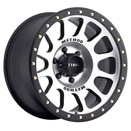 "Method Race Wheels NV Black Wheel with Machined Face (20x9""/6x5.5"") 18 mm offset"