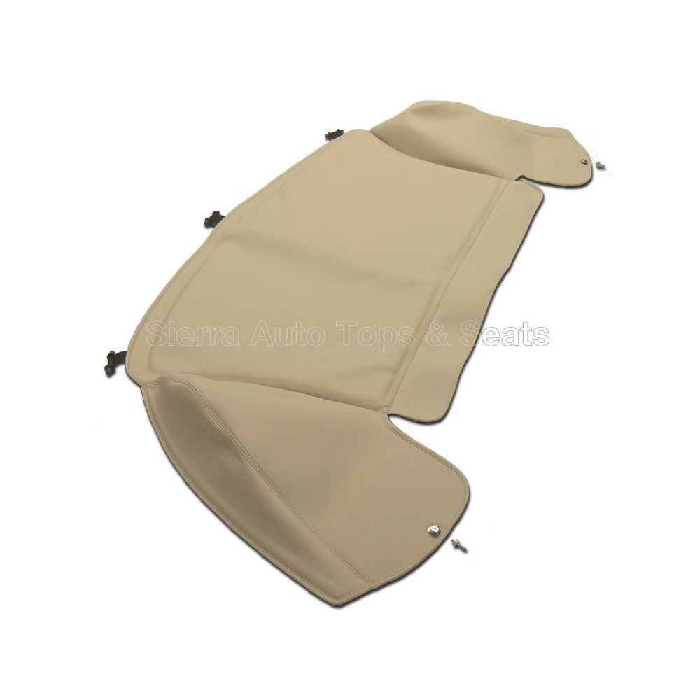 Sierra Auto Tops Boot Cover Kit for Convetible Vinyl compatible with Jaguar XK8 1997-2006 5029 Ivory