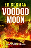 Front cover for the book Voodoo Moon by Ed Gorman