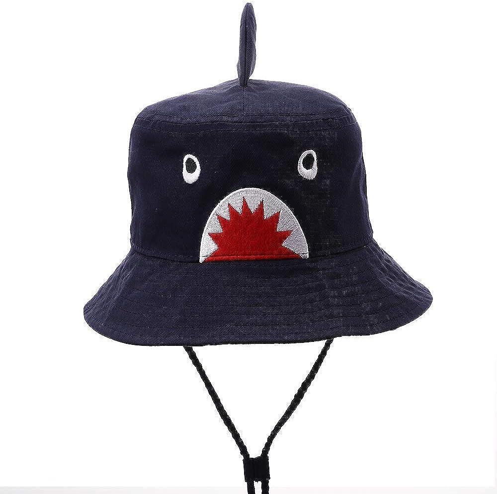 Cute Baby Girl Kids Sun UV Protection Shark Animal Hat Hisharry Toddler Boy Bucket Hat