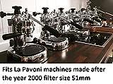 Bottomless Portafilter Lusso for La Pavoni