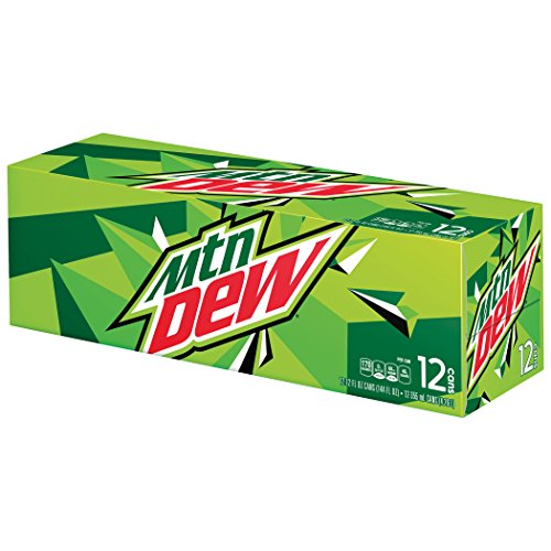 (Mountain Dew Cans (12 Count, 12 Fl Oz)
