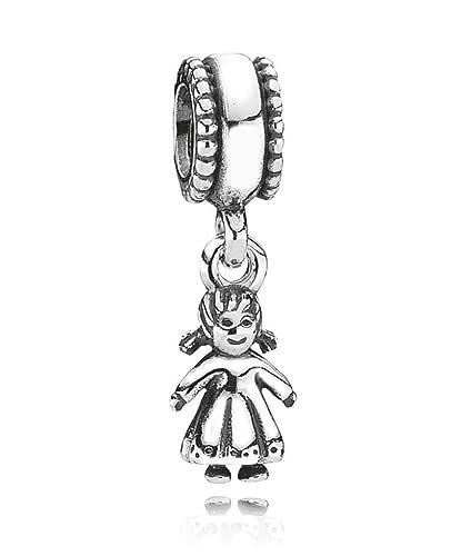 2179cbf1e Pandora Sterling Silver My Little Girl Dangle Charm No.790860:  Amazon.co.uk: Jewellery