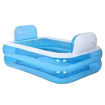 Bañera hinchable para adultos plegable piscina infantil cómoda ...