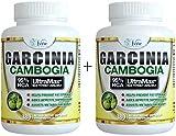 Pure Garcinia Cambogia 95% HCA - Extract Slim Maximum Strength Formula to Reduce Appetite & Lose Weight Faster Than Ever Plus Garcinia Cambogia Weight Loss E-Book (180 Count (2 Pack))