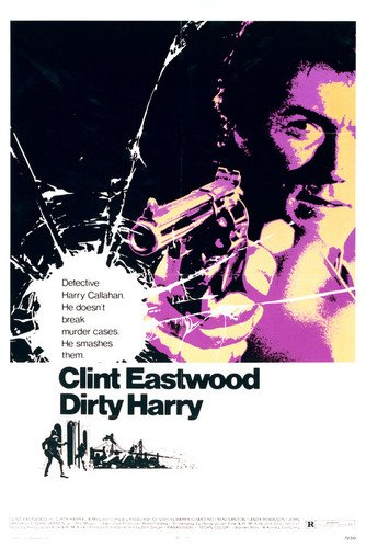 Clint Eastwood in Dirty Harry 24x36 Poster Silverscreen