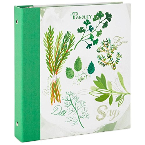 Hallmark Herbs and Spices Recipe Organizer Book by HMK