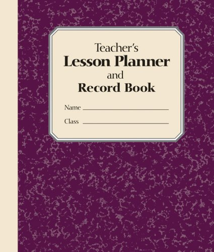 Download Teacher's Lesson Planner and Record Book ebook