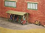 Wills Kits Bike Sheds with Bicycles