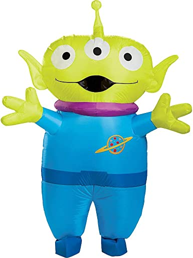 Disfraz Inflable de Alien para Adulto, Toy Story 4, Compatible con ...