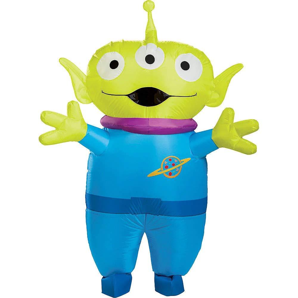 Disfraz Inflable de Alien para Adulto, Toy Story 4, Compatible con ...