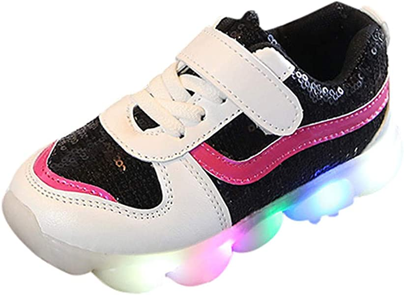 Boys Girls Running Trainers Infants Kids Sport Sneakers School Casual Shoes Size
