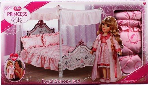 Amazon.com : Disney Princess And Me Canopy Bed Set    5 Pc. : Fashion Dolls  : Baby